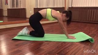 Домашняя тренировка «Растяжка для спины»
