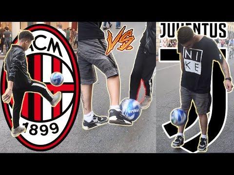 Juventino VS Milanista - Finale Coppa Italia CHALLENGE ● Milan vs Juventus