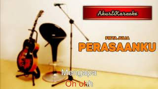 Gambar cover Fieya Julia - Perasaanku ( Karaoke Versi Akustik )