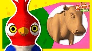 Adivina con Pajarón Los Animales de La Granja de Zenón #2 | La Granja de Zenón