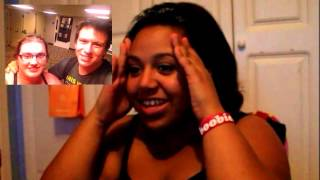 the start to the vidcon footage :BunBunChan's reaction to Phil Defranco. Thumbnail