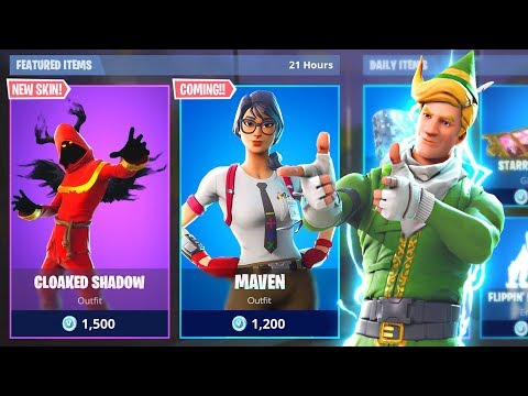 *NEW* ITEM SHOP SKINS COUNTDOWN! December 28th New Fortnite Skins LIVE! (Fortnite Item Shop Live) thumbnail