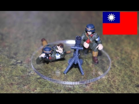 Chinese Nationalist 82mm Mortar team Bolt Action