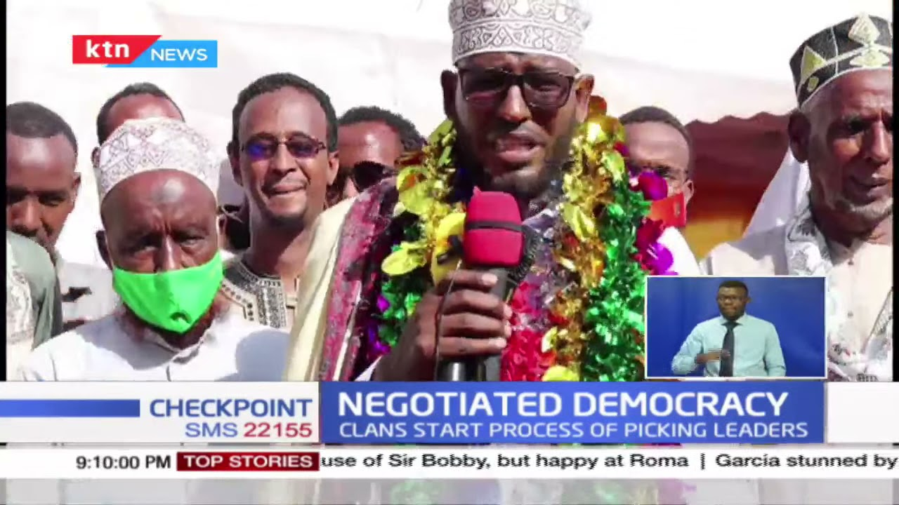 Download Negotiated democracy: Somali community clans start the process of picking leaders