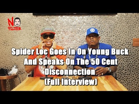 Spider Loc Goes In On Young Buck And Speaks On The 50 Cent Disconnection  (Full Interview)