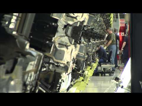 Производство Mercedes-Benz S-Class W222 часть 1