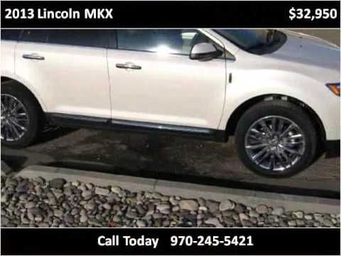 2013 lincoln mkx used cars grand junction co youtube. Black Bedroom Furniture Sets. Home Design Ideas