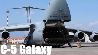 This US Plane is so Big it Needs 28 Wheels to Land: The C-5 Galaxy History