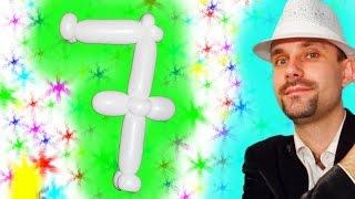 Цифра 7 из шдм ★ Number 7 of the balloons