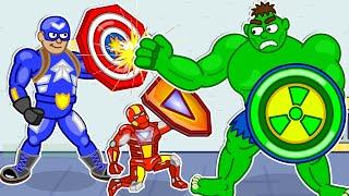 Super Hero Costumes in Museum