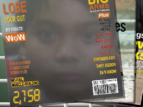 I have a magazine (magic camera)
