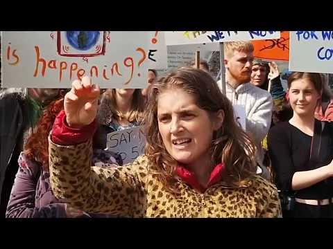 5G: Protestation à 5G à Totnes (Angleterre)