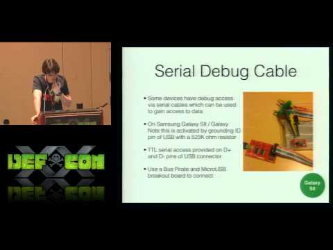 [DEFCON 20] Into the Droid: Gaining Access to Android User Data