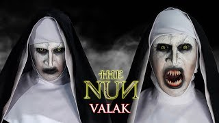 VALAK (The Nun) Makeup Transformation