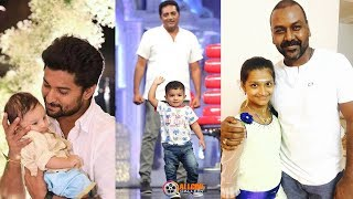 South Indian Actors with their Children | Tamil Telugu Malayalam Kannada