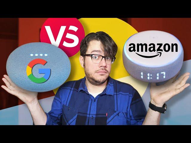 Google Nest Mini vs. Echo Dot with Clock: Full comparison!