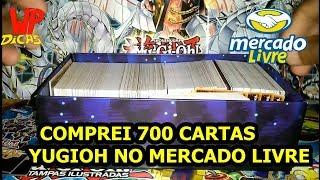 YUGIOH - UNBOXING 700 CARTAS - COMPRA NO MERCADO LIVRE