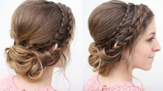 Braided Updo | Bridal Updo Hairstyles | Braidsandstyles12