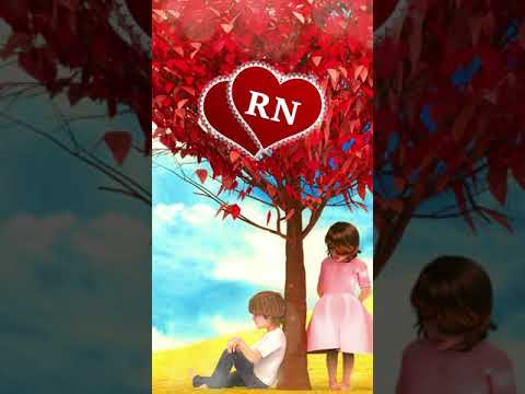 Download RN Letter Video WhatsApp Status   Sad Song #Shorts 😢