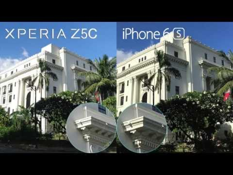 Xperia Z5 Compact vs iPhone 6s Comparison, Camera Review, Speed and Battery Test