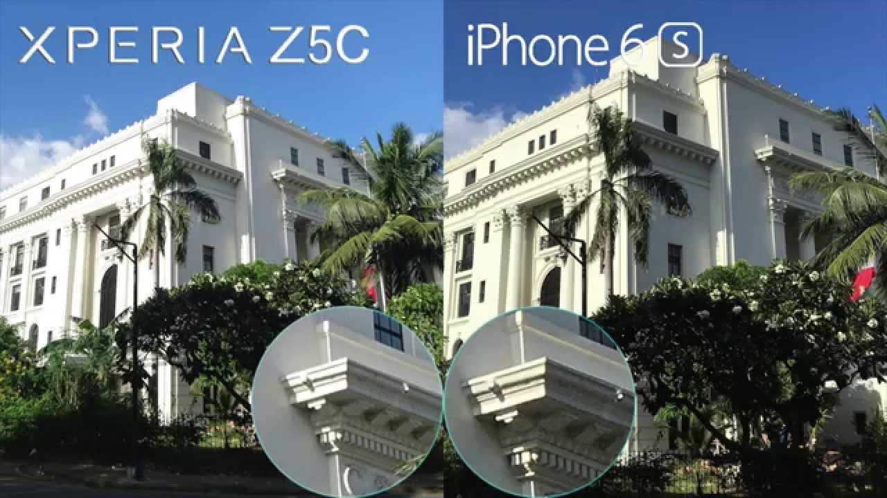 Xperia Z5 Compact và iPhone 6s - Ảnh so sánh khi zoom