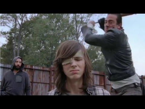 (EDIT) Negan Kills Carl | The Walking Dead Season 7