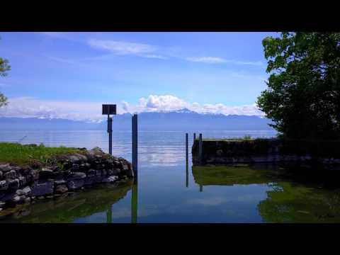 Dji Mavic Pro 4k Lac Léman (Lake of Geneva) Switzerland (First flights and first editing)