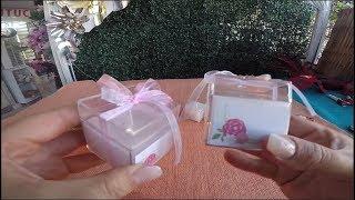 Hediyelik Parafin Mum Yapımı - Nikah - DIY #71