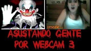 Asustando gente por webcam #3 El payaso asesino