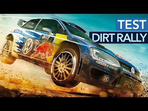 Dirt Rally - Test-Video zum Rallye-Kracher