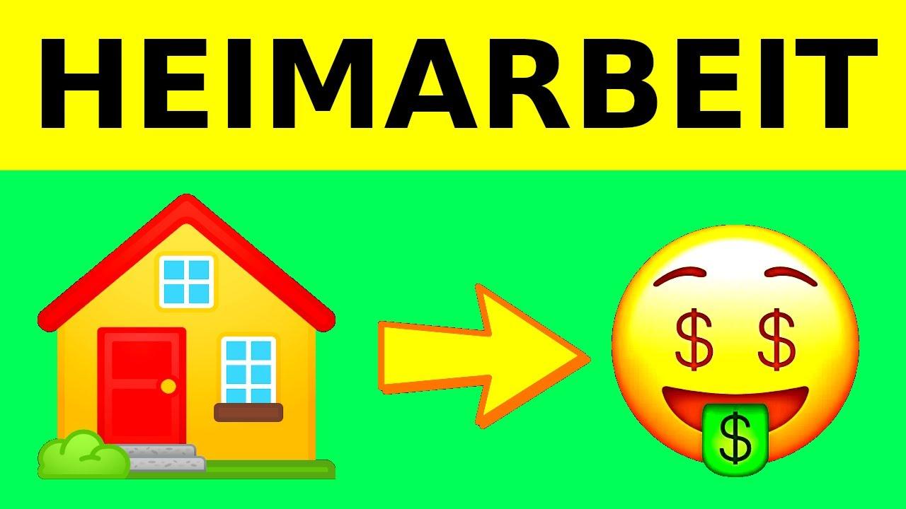Von Zuhause Geld Verdienen