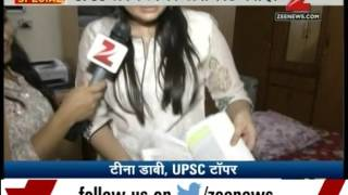 Watch: Zee Media Exclusive Chat With UPSC Topper Tina Dabi