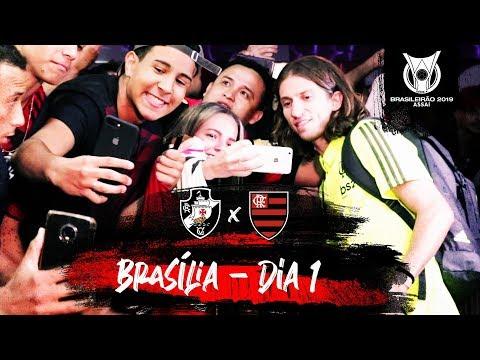 A chegada do Mengão a Brasília