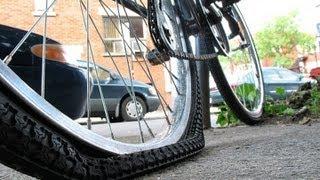 Como reparar una llanta de bicicleta