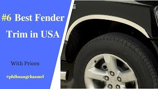 Top 6 Best Fender Trim in USA – Best Car Care Products 2018