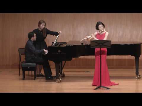 A.Piazzolla - The History of Tango (Histoire du Tango) for Flute, Piano (hey won jung)