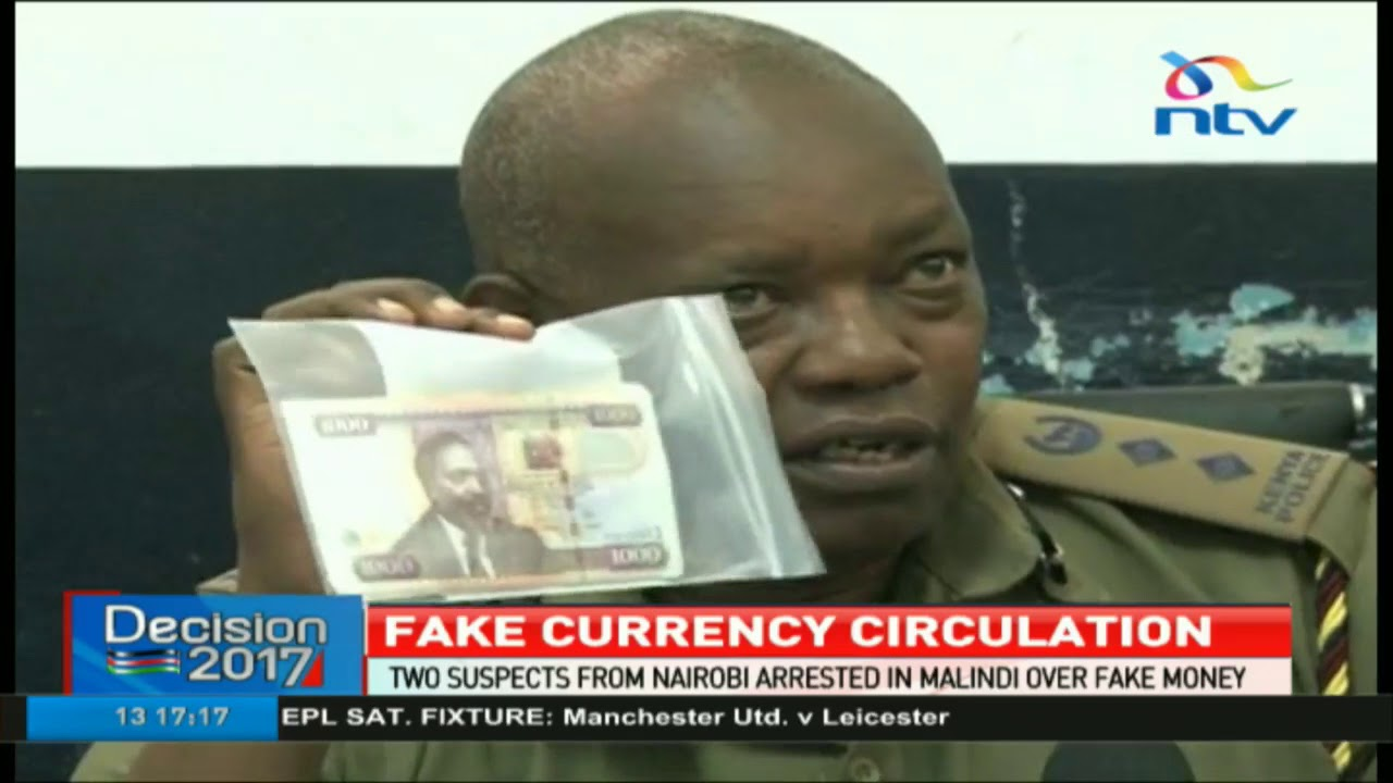 Two suspects from Nairobi arrested in Malindi over fake