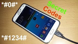 Samsung Galaxy S5 Secret Codes