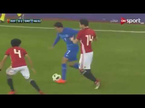 ⚽⚽Egypt vs Greece 0 1 Highlights and Nikos Karelis Goal HD