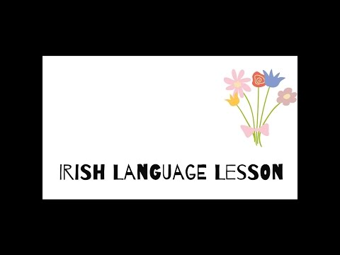 ASMR | Irish Language Lesson #1 (Gaeilge)| ear to ear