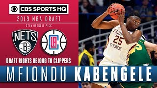 Mfiondu Kabengele is one of the best value picks in this draft| CBS Sports