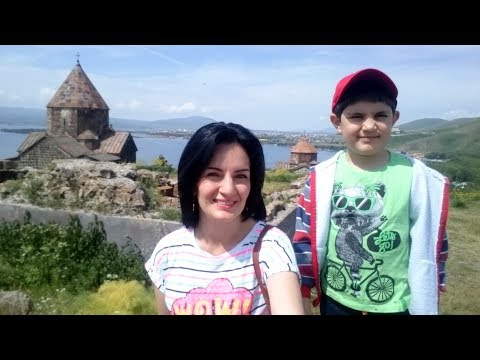 Наш Тур по Армении - Часть 1 - Севанаванк на Полуострове оз. Севан