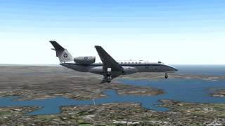 Hellenic Greek Air Force ERJ Embraer E-Jet 135LR  Sydney Kingsford Smith Airport FS2004