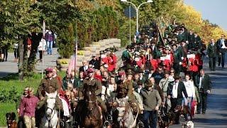 Parada Św. Huberta ulicami Kielc - Ogólnopolski Hubertus Świętokrzyski 04.10.2015