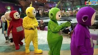 Terbaru Pakai Cosplay Teletubbies & Cosplay Upin Ipin Goyang Dj Spongebob & Ku Puja-Puja Di Gofun