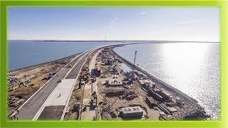 Керченский мост! Самые последние (11.02.2018) новости строительство моста! смотреть до конца!!!