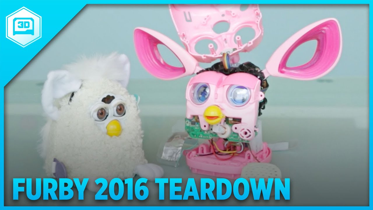 Furby 2016 Teardown Adafruit Youtube