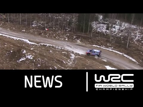 WRC Rally Sweden 2016: Stages 1-4