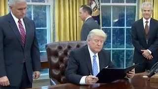 Donald Trump Keeps MAJOR Campaign Promise