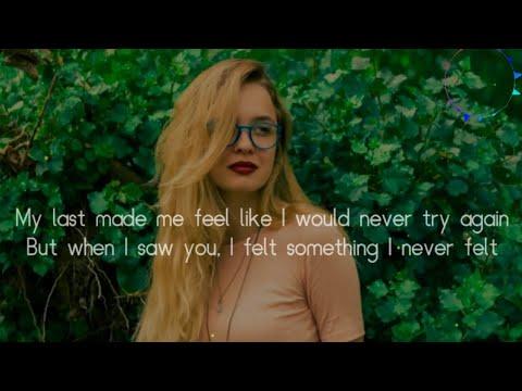 when i saw you i felt something